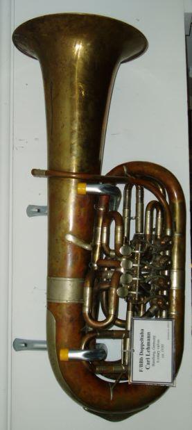 Lehmann Fbbb Double Tuba 6 Rotary C1930 V E Simonetti